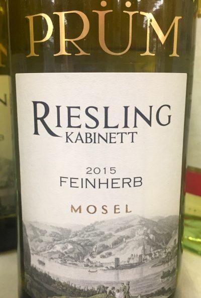 R. Prüm Riesling Kabinett feinherb 2015