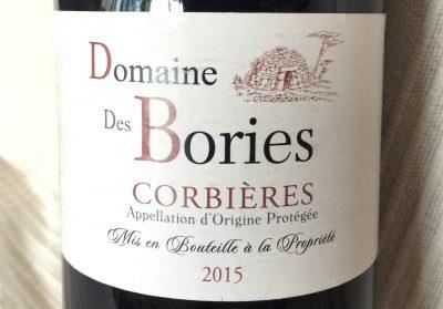 Terre d'Expression Domaine des Bories Corbières Rouge 2015