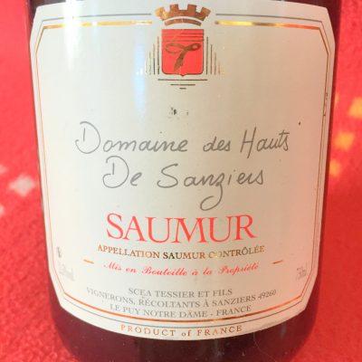 Tessier & Fils Saumur Domaine des Hauts de Sanziers 2015