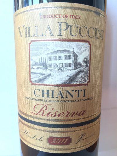 Villa Puccini Chianti Riserva 2011