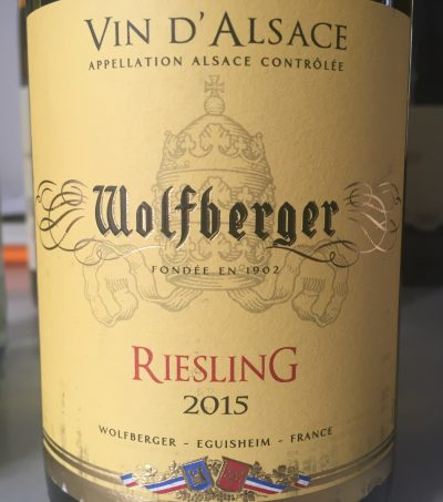 Wolfberger Alsace Riesling 2015