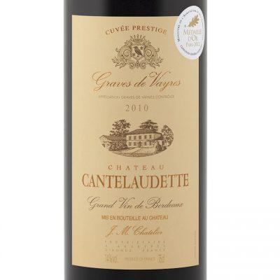 Chateau-Cantelaudette-Cuvee-Prestige-2010-Label