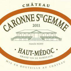 Château Caronne Sainte-Gemme Haut-Médoc 2011