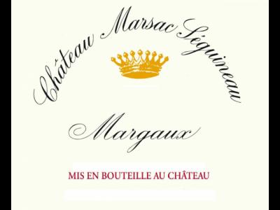 Château Marsac-Séguineau Margaux 2014
