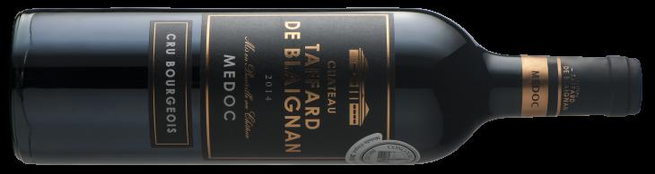 Vignobles Cadillac Château Taffard de Blaignan Médoc 2014**