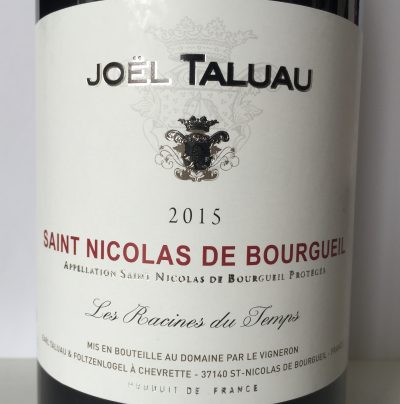 Joël Taluau Saint-Nicolas de Bourgueil Les Racines du Temps 2015