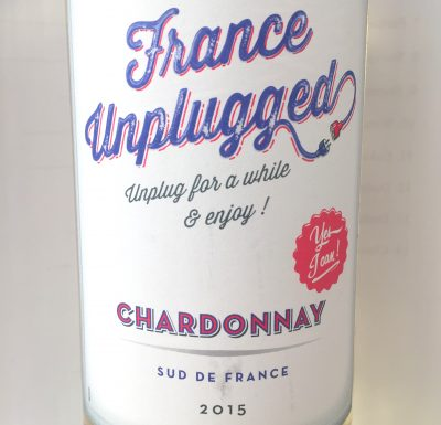 Les Vins du Littoral France Unplugged Chardonnay 2015