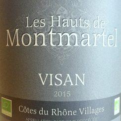 Pierre Rougon Côtes du Rhône-Villages Visan Les Hauts de Montmartel Bio 2015