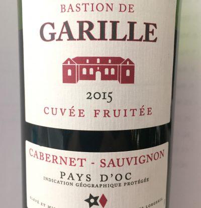Vignobles Lorgeril Pays d'Oc Cabernet Sauvignon Bastion de Garille Cuvée Fruitée 2015