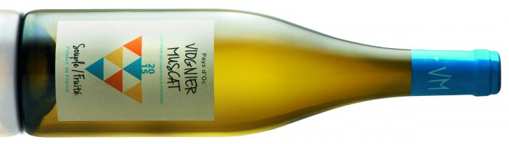 Cellier de Saint Jean Pays d'Oc Muscat / Viognier Souple Fruité 2015*