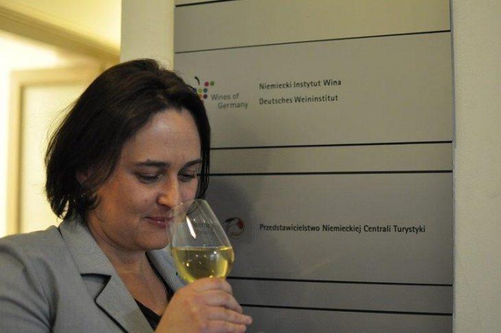 Anna Gmurczyk - prężnie szefująca Niemieckiemu Instytutowi Wina w Polsce. © Wina Niemieckie.