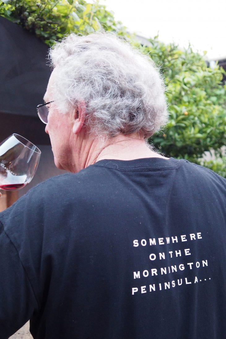 Gdzieś w Mornington Peninsula, a dokładnie w Moorooduc Estate. Na zdjęciu tata Kate McIntyre robi pizzę. © Izabela Kamińska