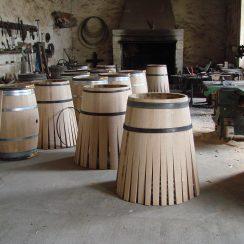 W bordoskim Château Margaux sami robią beczki.